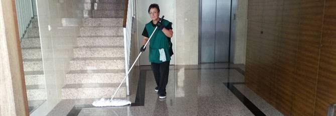 Servicio de limpieza de comunidades en Valencia