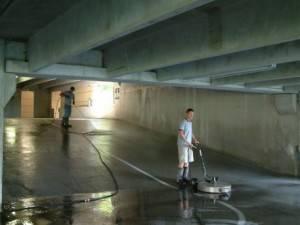 Limpieza de garajes y parkings en Valencia