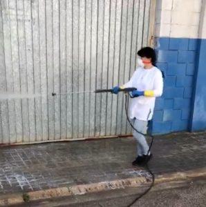 desinfecciones COVID-19 Huta Valencia